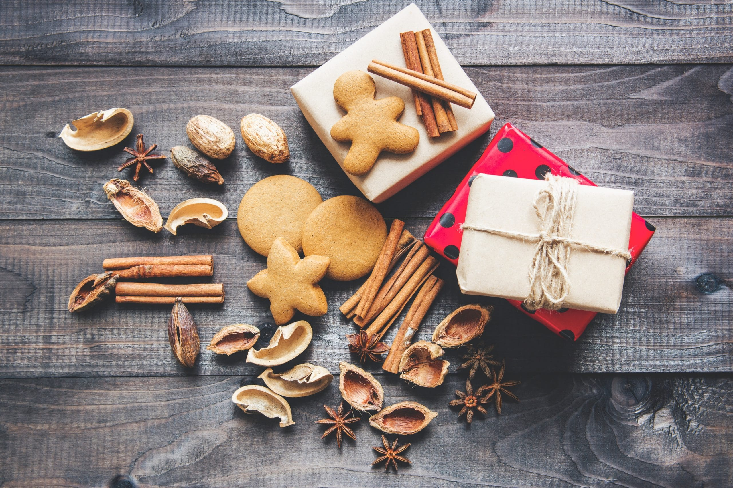 Christmas Recipe Ideas, gingerbread and cinnamon