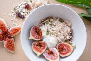 yoghurt and muesli
