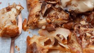 Honey, Apple and Almond Galette Recipe